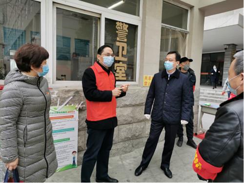 孔涛赴团省委直属单位调研指导疫情防控和复产复工工作