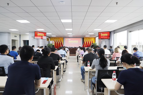 """省青联举办""""青春同心·永跟党走"""" 党史学习读书分享会"""